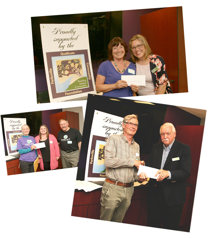 Parksville-Qualicum Community Foundation Donors