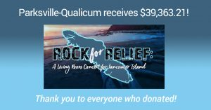 Rock For Relief Concert raises $39K+ for PQCF!