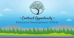 Contract Opportunity: Resource Development Officer