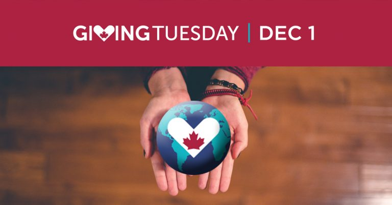 Giving Tuesday Dec. 1
